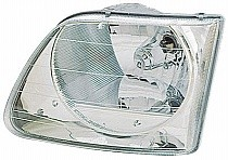2001 - 2003 Ford F-Series Heritage Pickup Front Headlight Assembly Replacement Housing / Lens / Cover - Left (Driver)