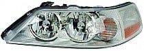 2003 - 2004 Lincoln Town Car Headlight Assembly (Halogen) - Left (Driver)