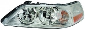 2003-2004 Lincoln Town Car Headlight Assembly (Halogen) - Left (Driver)