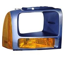 2006 - 2007 Ford F-Series Super Duty Pickup Parking Light - Right (Passenger)