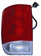 1995 - 2001 Oldsmobile Bravada Tail Light Rear Lamp (with Wire) - Left (Driver)