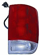 1995 - 2005 Chevrolet Chevy S10 Blazer Rear Tail Light Assembly Replacement (with Wire) - Right (Passenger)