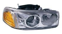 2000 - 2006 GMC Yukon XL Headlight Assembly (Denali / with Bulb) - Right (Passenger)