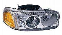 2000-2006 GMC Yukon XL Headlight Assembly (Denali / with Bulb) - Right (Passenger)