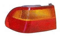 1992 - 1995 Honda Civic Rear Tail Light Assembly Replacement (Coupe/Sedan + Body Mounted) - Left (Driver)