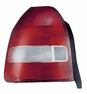 1999 - 2000 Honda Civic Rear Tail Light Assembly Replacement (Hatchback) - Left (Driver)