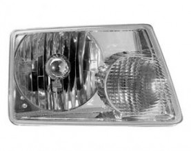 2001-2003 Ford Ranger Headlight Assembly - Left (Driver)