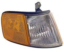 1990 - 1991 Honda Civic CRX Corner Light Assembly Replacement / Lens Cover - Left (Driver)