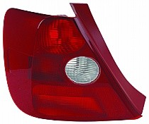 2002 - 2003 Honda Civic Rear Tail Light Assembly Replacement / Lens / Cover - Left (Driver)