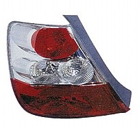 2004 - 2005 Honda Civic Tail Light Rear Lamp (Hatchback / without Bulbs or Sockets) - Left (Driver)