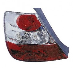 2004-2005 Honda Civic Tail Light Rear Lamp (Hatchback / without Bulbs or Sockets) - Left (Driver)