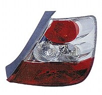 2004 - 2005 Honda Civic Tail Light Rear Lamp (Hatchback + without Bulbs or Sockets) - Right (Passenger)