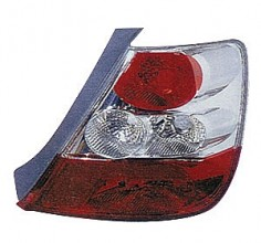 2004-2005 Honda Civic Tail Light Rear Brake Lamp (Hatchback / without Bulbs or Sockets) - Right (Passenger)