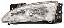 1996 - 1998 Hyundai Elantra Front Headlight Assembly Replacement Housing / Lens / Cover - Left (Driver)