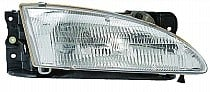 1996 - 1998 Hyundai Elantra Front Headlight Assembly Replacement Housing / Lens / Cover - Right (Passenger)