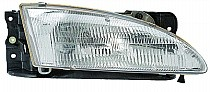1996-1998 Hyundai Elantra Headlight Assembly - Right (Passenger)
