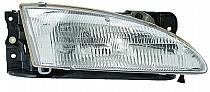 1996-1998 Hyundai Elantra Headlight Assembly - Right (Passenger)