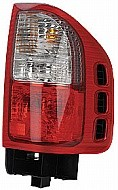 2000 - 2004 Isuzu Rodeo Rear Tail Light Assembly Replacement / Lens / Cover - Right (Passenger)