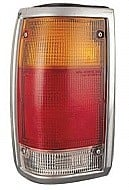 1986 - 1993 Mazda B2200 Tail Light Rear Lamp (Bright Lens) - Left (Driver)