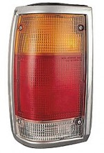 1986-1993 Mazda B2200 Tail Light Rear Lamp (Bright Lens) - Left (Driver)