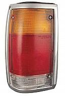 1986-1993 Mazda B2500 Tail Light Rear Lamp (Bright Lens) - Left (Driver)