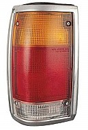 1986 - 1993 Mazda B4000 Rear Tail Light Assembly Replacement (Bright Lens) - Left (Driver)