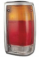 1986 - 1993 Mazda B2500 Tail Light Rear Lamp (Bright Lens) - Right (Passenger)
