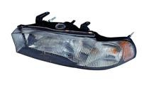 1996 - 1997 Subaru Outback Front Headlight Assembly Replacement Housing / Lens / Cover - Left (Driver)