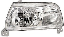 1999 - 2005 Suzuki Grand Vitara Headlight Assembly (Vitara/Vitara V6 without Bulbs or Sockets + with Bright Bezel) - Left (Driver)
