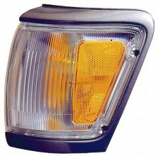 1992-1995 Toyota 4Runner Corner Light (Park/Marker Combination / with Primed Rim) - Left (Driver)