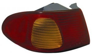 1998-2002 Toyota Corolla Tail Light Rear Brake Lamp (with Bulb) - Left (Driver)