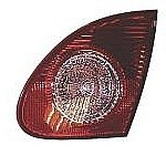 2003 - 2008 Toyota Corolla Deck Lid Backup Light Lamp - Left (Driver)