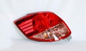 2003-2004 Toyota Matrix Tail Light Rear Lamp (OEM# 81561-02210) - Left (Driver)