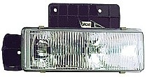 1995 - 2005 GMC Safari Headlight Assembly - Left (Driver)