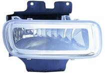 2004 - 2005 Ford F-Series Light Duty Pickup Fog Light Assembly Replacement Housing / Lens / Cover - Right (Passenger)