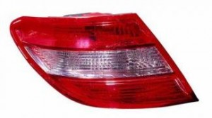 2008-2011 Mercedes Benz C300 Tail Light Rear Lamp - Left (Driver)