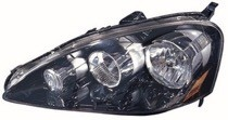 2005 - 2006 Acura RSX Front Headlight Assembly Replacement Housing / Lens / Cover - Left (Driver)