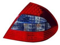 2007 - 2009 Mercedes Benz E320 Rear Tail Light Assembly Replacement (with Appearance Package) - Right (Passenger)
