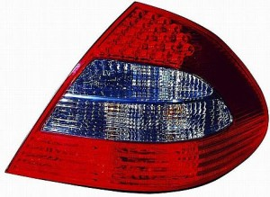 2007-2009 Mercedes Benz E320 Tail Light Rear Lamp (with Appearance Package) - Right (Passenger)