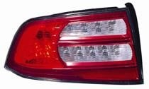 2007 - 2008 Acura TL Rear Tail Light Assembly Replacement (Base/Navi Models) - Left (Driver)