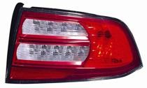 2007 - 2008 Acura TL Rear Tail Light Assembly Replacement (Base/Navi Models) - Right (Passenger)