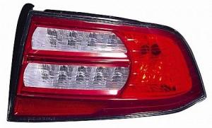 2007-2008 Acura TL Tail Light Rear Brake Lamp (Base/Navi Models) - Right (Passenger)