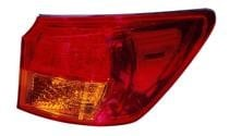 2006 Lexus IS250 Outer Rear Tail Light Assembly Replacement / Lens / Cover - Left (Driver)