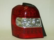 2006 - 2007 Toyota Highlander Hybrid Rear Tail Light Assembly Replacement / Lens / Cover - Left (Driver)
