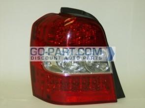 2006-2007 Toyota Highlander Hybrid Tail Light Rear Brake Lamp - Left (Driver)