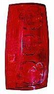 2007-2011 GMC Yukon XL Tail Light Rear Lamp - Left (Driver)