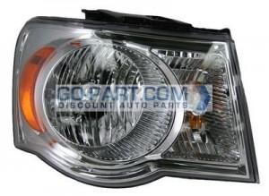 2007-2008 Chrysler Aspen Headlight Assembly - Right (Passenger)