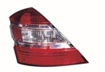 2007 - 2009 Mercedes Benz S550 Rear Tail Light Assembly Replacement / Lens / Cover - Left (Driver)