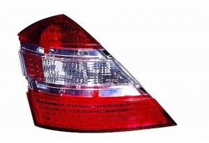 2007-2007 Mercedes Benz S550 Tail Light Rear Lamp - Left (Driver)
