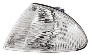 2001-2003 BMW 330i Side Repeater Light (Convertible / E46 / White / to 3/03) - Left (Driver)